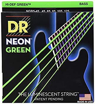 【中古】DR-NGB545/Medium 5 String/NEON GREEN/エレキベース弦