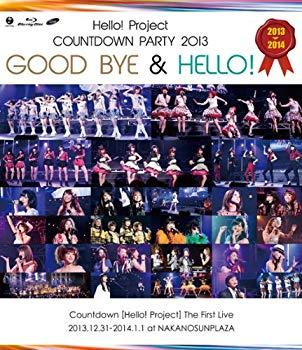 中古 未使用 未開封品 Hello Project COUNTDOWN PARTY ~ BYE GOOD 低価格 Blu-ray お中元 2013 HELLO