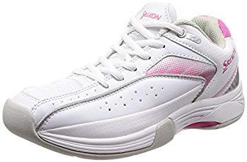 【国際ブランド】 [スリクソン] テニスシューズ カーペットコート用 スピーザ 2 ホワイト×ピンク 24.5 cm, 照明器具と住まいのこしなか 63f42391
