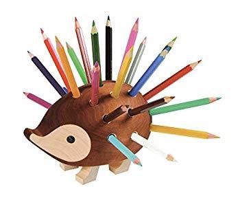 24色 【中古】コヒノール ハリネズミ色鉛筆スタンド ブラウン 520706
