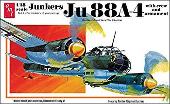 <title>中古 プラッツ 1 人気ショップが最安値挑戦 48 第二次世界大戦 ドイツ空軍 ユンカース Ju88A-4 プラモデル AMT933</title>