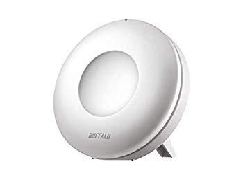 【中古】BUFFALO WiFi 無線LAN connectシリーズ 専用中継機 WEM-1266 11ac 866+400Mbps 独自メッシュ機能搭載 【iPhone8/iPhoneX/Echo メーカー動作確認