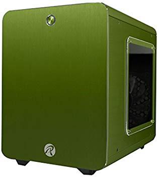 【中古】RAIJINTEK METIS PLUSシリーズ キューブ型アルミニウム製Mini-ITXケース 0R200060 (METIS PLUS 緑)