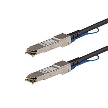 中古 StarTech.com QSFP+ DAC Twnax 25%OFF ケーブル 40GbE パッシブダイレクトアタッチケーブル QFXQSFPDAC3M 業界No.1 3m Juniper製QFX-QSFP-DAC-3M互換