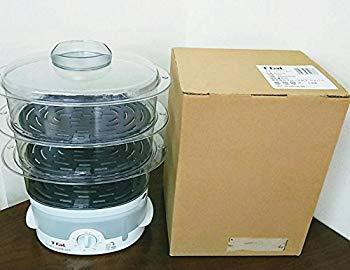 【中古】グループセブジャパン ティファール 電気蒸し器 『スチームクッカー』 3段タイプVC103270