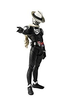 定価 中古 S.H.フィギュアーツ 全国どこでも送料無料 真骨彫製法 仮面ライダーW 塗装済み可動フィギュア 約145mm 仮面ライダースカル ABSPVC製