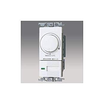 【中古】パナソニック(Panasonic)?コスモLED埋込逆位相調光スイッチC WTC57583W