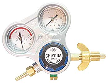 【中古】千代田 酸素用調整器スタウト(関西式) SROW
