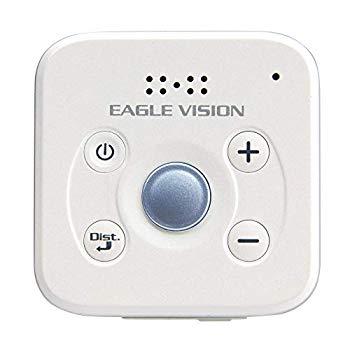 【中古】アサヒゴルフ EAGLE VISION VOICE 3 GPS 音声タイプ ユニセックス EV-803 ホワイト