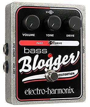 【中古】electro-harmonix エレクトロハーモニクス ベースエフェクター ディストーション/ファズ Bass Blogger 【国内正規品】
