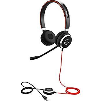 【中古】Jabra 法人向け 2年保証付き EVOLVE 40 MS Stereo エンタープライズヘッドホン(ステレオ 業務用) マイクロソフト社認証 【日本正規代理店品】 63