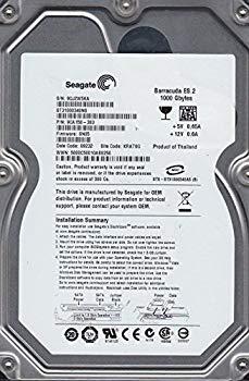 【中古】Seagate 3.5インチ内蔵HDD 1TB Serial-ATA/300 7200rpm 32MB 8.5ms 流体軸受 NCQ RoHS ST31000340NS