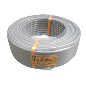 【中古】富士電線工業 低圧配電用ケーブル(VV-F) φ6.6/φ13.8mm