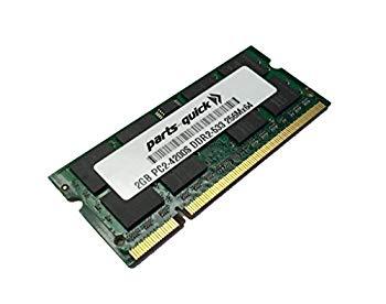 【中古】2?GBメモリfor Acer Aspire 3050???1710?ddr2?pc2???4200ノートパソコンRam ( parts-quickブランド)