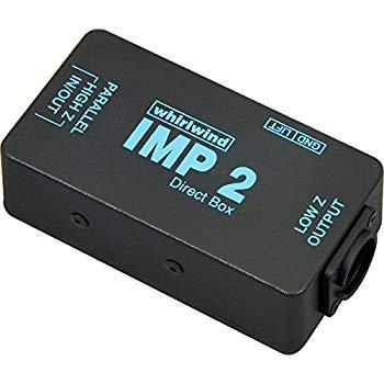 【中古】whirlwind キーボード/ラインレベル機器用パッシブ・スタンダードダイレクトボックス IMP2