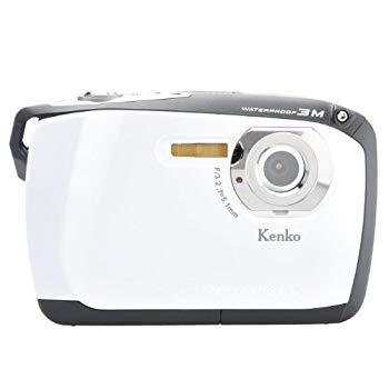 【中古】Kenko 防水デジタルカメラ DSC-808W WH(ホワイト)