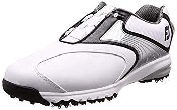 【中古】[フットジョイ] ゴルフシューズ FJ URTRAFIT Boa ATHLETIC メンズ ホワイト/ブラック/シルバー18 26.5 cm