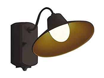 【中古】コイズミ照明 人感センサ付ポーチ灯 マルチタイプ 茶色塗装 AU42251L