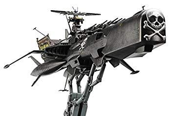 【中古】ハセガワ 1/1500 「キャプテンハーロック 次元航海」宇宙海賊戦艦 アルカディア三番艦[改]強攻型 プラモデル