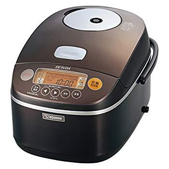 【中古】象印 圧力IH炊飯器 1升 ブラウン NP-BC18-TA