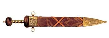 【中古】模造刀剣(装飾品) 洋剣 4140 グラデェーター スオード