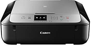 【中古】Canon インクジェットプリンター複合機 PIXUS MG5730 BS ブラックシルバー