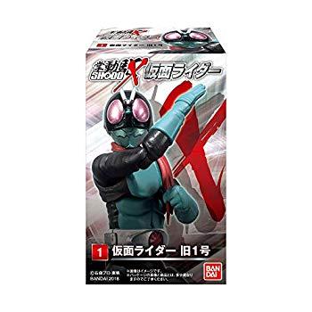 中古 SHODO-X 仮面ライダー 代引き不可 記念日 食玩 ガム 10個入