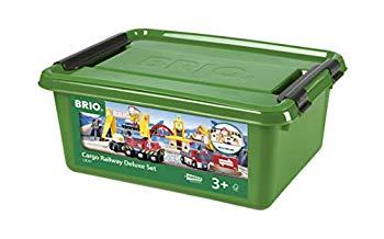 実物 中古 未使用 未開封品 BRIO ブリオ 木製レール おもちゃ WORLD 販売実績No.1 33097 カーゴレールデラックスセット