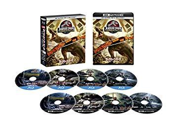 【中古】ジュラシック・パーク 4ムービー・コレクション (4K ULTRA HD+Blu-rayセット)[4K ULTRA HD + Blu-ray]