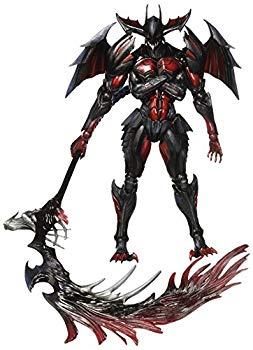 【中古】Monster Hunter X(Cross) PLAY ARTS改 ディアボロス装備(レイジシリーズ) PVC製 塗装済み可動フィギュア