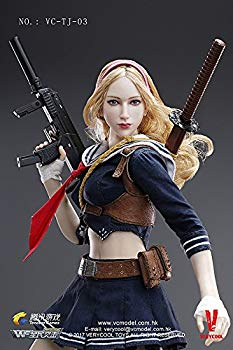 【中古】ベリー・クール 1/6 アクションフィギュア VC-TJ-03 Wefire of Blade Girl ファイトセーラー服風 ブレイドガール