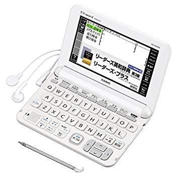 【新発売】 【】カシオ 電子辞書 エクスワード ビジネスモデル XD-K8500WE ホワイト コンテンツ170, madame bleu ebf809ea