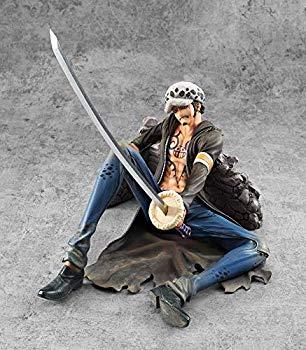 """【中古】Portrait.Of.Pirates ワンピース""""LIMITED EDITION"""" トラファルガー・ローVer.VS 1/8スケール(全高約210ミリ)"""
