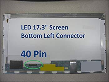 中古 Acer Aspire 在庫一掃売り切りセール 7738ノートパソコン交換用LCD画面17.3インチWXGA + LEDダイオード Not 再再販 代替のみ a