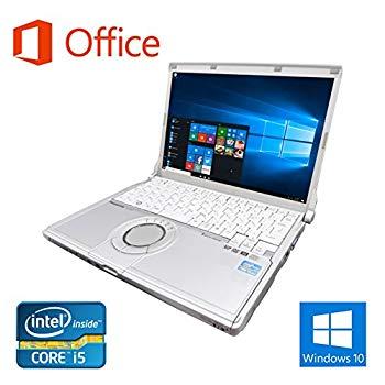 【中古】【Microsoft Office 2016搭載】【Win 10搭載】Panasonic CF-S10/次世代Core i5 2.5GHz/メモリー4GB/HDD:250GB/DVDスーパーマルチ/12インチ/無線
