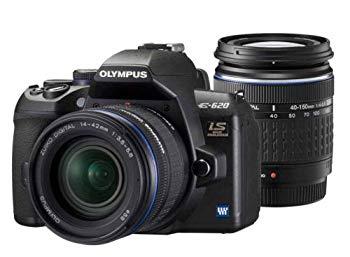 【中古】OLYMPUS デジタル一眼カメラ E-620 ダブルズームキット