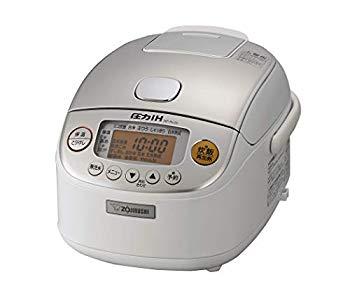 【中古】象印 炊飯器 圧力IH式 3合 極め炊き 黒まる厚釜 ホワイト NP-RL05-WA