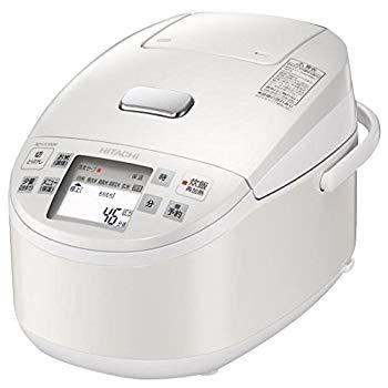 【中古】日立 炊飯器 圧力IHスチーム 黒厚鉄釜 5.5合 RZ-VX100M W