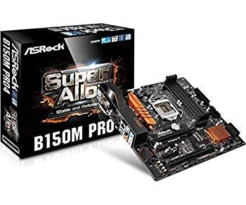 【中古】ASRockマザーボードMicro ATX ddr4?b150?m pro4