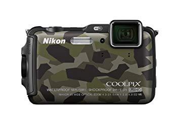 【中古】Nikon デジタルカメラ AW120 防水 1600万画素 カムフラージュ AW120GR