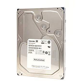 【中古】TOSHIBA MD05ACA800 8TB 3.5インチHDD Serial ATA600 7200rpm バルク品