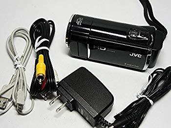 【中古】JVCケンウッド JVC 64GBフルハイビジョンメモリームービー クリアブラック GZ-HM690-B