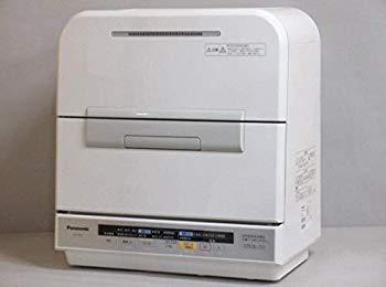 【中古】Panasonic(パナソニック) 食器洗い乾燥機 ホワイト エディオンオリジナル[パワー除菌ミスト/低温ソフトコース機能搭載] NP-TME9-W