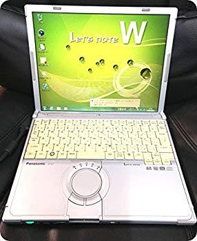 【中古】【中古パソコン】 ノートパソコン Panasonic レッツノート CF-W7 Core2Duo-1.06GHz 1.5GB 80GB DVDスーパーマルチ Windows7搭載 12.1型 1024x768
