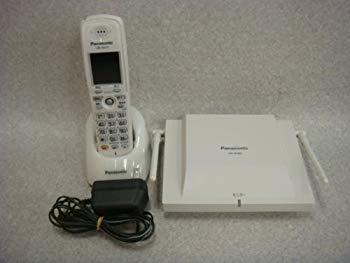 【中古】Panasonic La Relier コードレス ビジネスフォン VB-W411B+VB-W460B