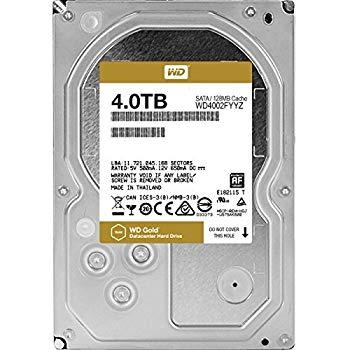 【中古】WD HDD 内蔵ハードディスク 3.5インチ 4TB WD Gold WD4002FYYZ/SATA3.0/5年保証
