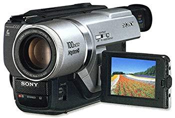 【中古】SONY DCR-TRV225K ハンディカム Digital8ビデオカメラ (8mmビデオプレーヤー)