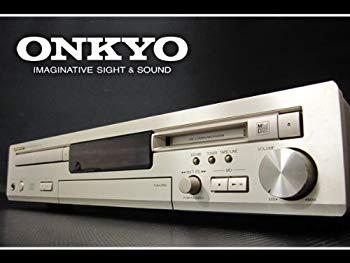 【中古】ONKYO オンキョー FR-435 CD/MDチューナーアンプ 一体型