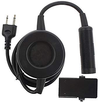 【中古】KENMAX Tactical Headset PTT Walkie Talkie Outdoors Military Accessories Tactical Headset PTT Push to Talk for ICOM Radio by Unknown
