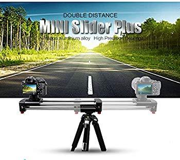 【中古】Latourアルミニウム合金拡張可能ダブル旅行距離トラックドリーレールスライダービデオスタビライザービデオカメラDSLR